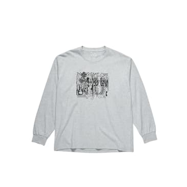 Polar Skate Co TK Long Sleeve Shirt - Sport Grey