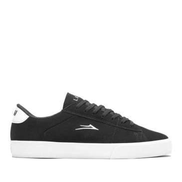 Lakai Newport Skate Shoes - Black / White