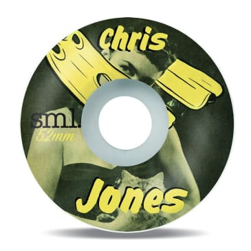SML Send Nudes Chris Jones Skateboard Wheels 99a - 52mm