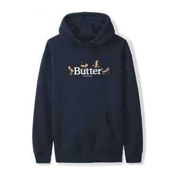Butter Goods - Monkey Pullover Hoodie - Navy