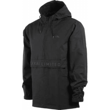 LAKAI EXPO ANORAK JACKET - BLACK
