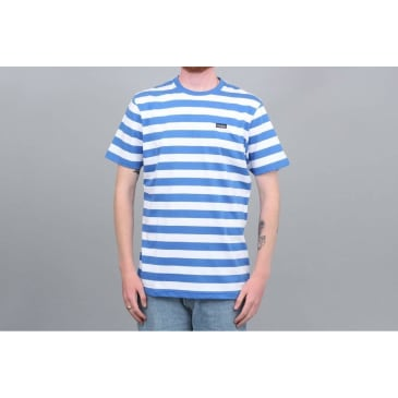 Civilist Stripe T-Shirt - Blue / White