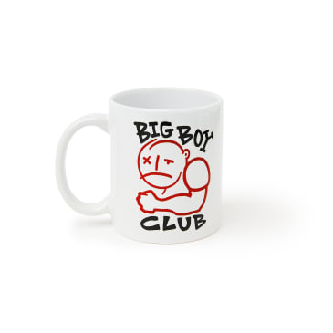 Polar Skate Co Big Boy Club Mug - White / Red / Black