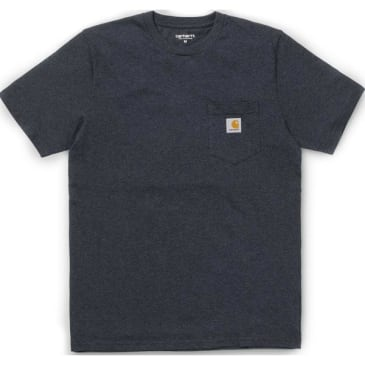 Carhartt WIP Pocket T-Shirt - Dark Navy Heather