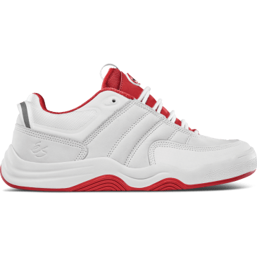 eS Evant Skate Shoe - White / Red