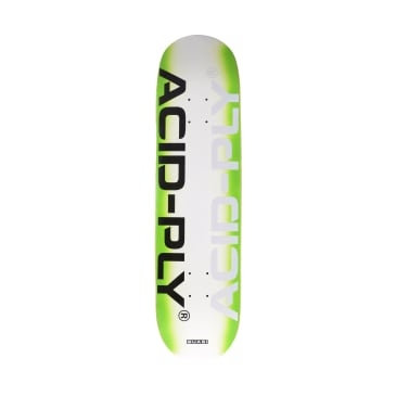 Quasi Technology Green Skateboard Deck - 8.125""