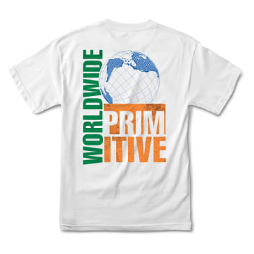 PRIMITIVE Takeover Tee White