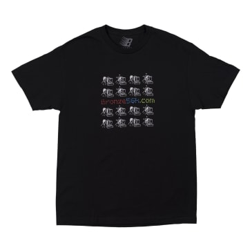 Bronze 56K Mondays T-Shirt - Black
