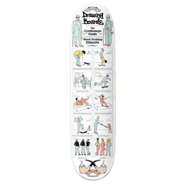 """The Drawing Boards Gent Deck - 8"""""""