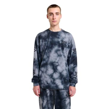 Sex Skateboards Subtle Tie Dye Longsleeve - Black
