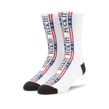 HUF F*** It Flag Socks - Multi