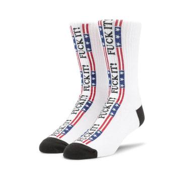 HUF F*** It Flag Socks - Multi