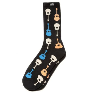 Lakai Guitar Socks (Black)