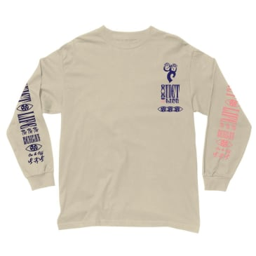 The Quiet Life - Post Long Sleeve T - Sand