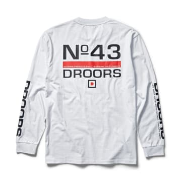 Droors No. 43 L/S Tees (Bright White)