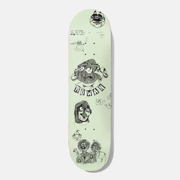 Baker Skateboards Rowan Santino Skateboard Deck - 8.25