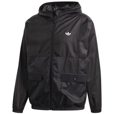 adidas Lightweight Windbreaker - Black