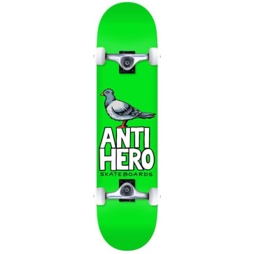 "Anti Hero Skateboards - 8.25"" Pigeon Hero Complete Skateboard"