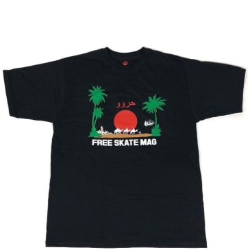 Free Skate Magazine Marrakech T-Shirt - Black