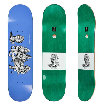 Polar Skate Co Hjalte Halberg Picknick Skateboard Deck - 8""