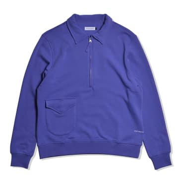 Pop Trading Company Sportswear Company Heavyweight Halfzip Grape