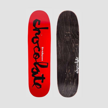 Chocolate Anderson Original Chunk Red Deck