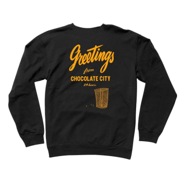 Chocolate Greetings Crew - Black