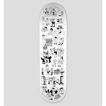 "Pass Port - ""Coppers"" Toby Zoates Series Deck (8.5"")"
