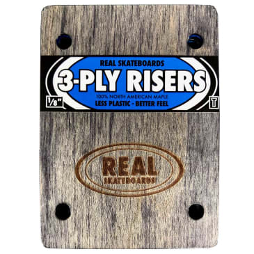 Real Risers 3-Ply 1/8'' Thunder (Blue)