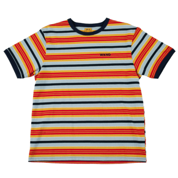 WKND - Ringer Tee - Striped