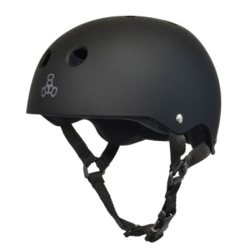 Triple 8 Brainsaver (Black Rubber/Black)