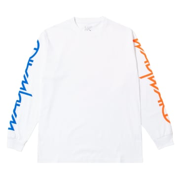 Wayward Wayslee Snipes Long Sleeve T-Shirt - White