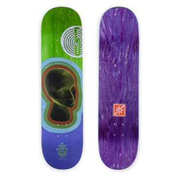 HABITAT SKATEBOARDS - DELATORRE CONTOUR DECK - 8.125""