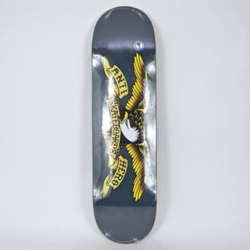 "Anti Hero Skateboards - 8.25"" Classic Eagle Deck - Grey"
