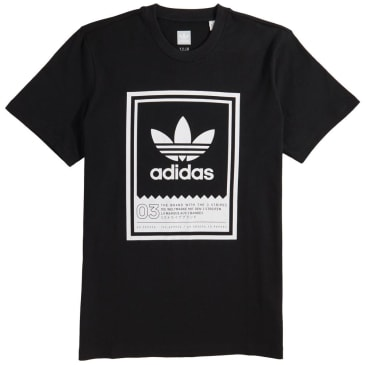 adidas Botsford T-Shirt - Black / White