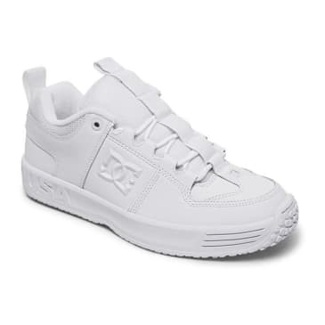 DC Lynx OG All White Leather