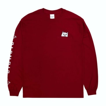 Rip N Dip Lord Nermal Long Sleeve Red