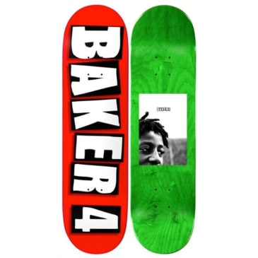 Baker Skateboards Baker 4 Skateboard Deck - Red