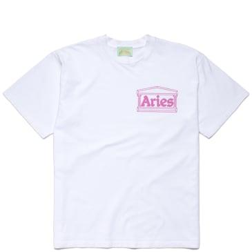 Aries Temple T-Shirt - White