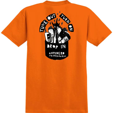 ANTIHERO Tune Out Pocket Tee Orange