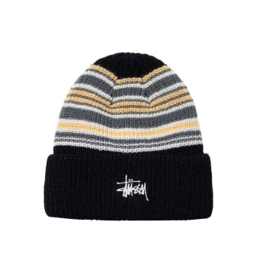 Stussy - Striped Cuff Beanie