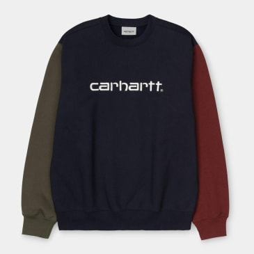 Carhartt WIP - Tricol Sweat - Dark Navy