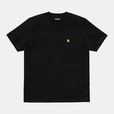 Carhartt WIP - Chase T-shirt - Black/Gold