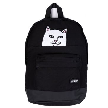 RIPNDIP Lord Nermal Backpack - Black/Black