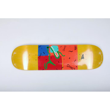 Primitive Deck Villani Outsider Art 8.38