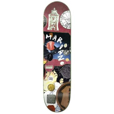 """Numbers Skateboards - Guy Mariano Edition 7 Deck 8.125"""" Wide."""