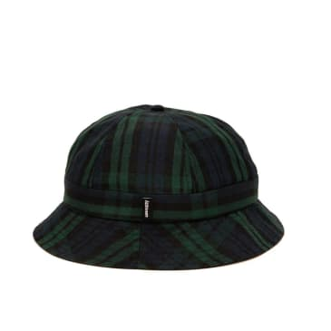Alltimers Plaid Bucket Hat Navy