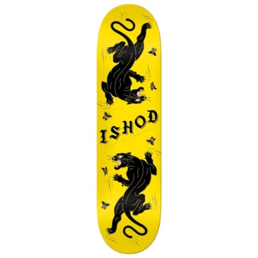 Real Ishod Cat Scratch Yellow Deck