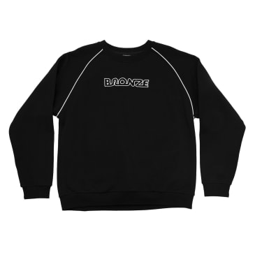 Bronze 56K Pipe Crewneck - Black