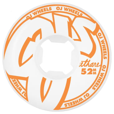 OJ Wheels From Concentrate Hardline 101a White 52 MM